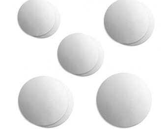 Assorted Stamping Blanks Metal Stamping Blanks No Hole Blanks Aluminum Circle Blanks Variety Pack 20 gauge 9 pieces PREORDER