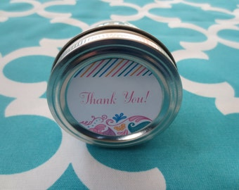 Thank You Candle- 4 oz Candle- Scented Soy Candle-Thank You Gift- Handmade Soy Candle