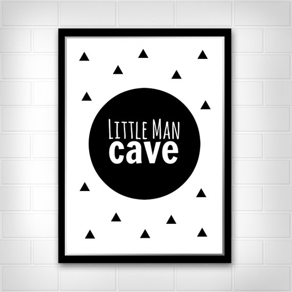 Man Cave Art Prints : Little man cave print by littlelovesdecor on etsy