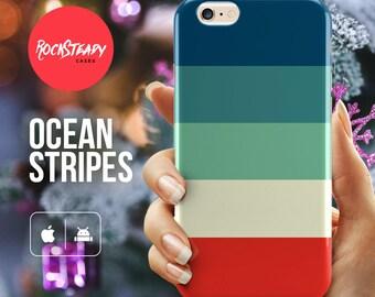 stripe iPhone 6s case, Stripes iPhone 7 Plus case, iPhone 5s Case, colorful stripe iPhone 5c case, iPhone 6 case striped, galaxy s7, s6 , s5