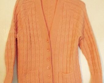 SALE ITEM Handmade 1970's Cardigan