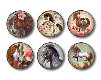 Horse Magnets, Horse Lover Gift, Fridge Magnets, Kitchen Magnets, Locker Magnets, Horse, Gift For Her