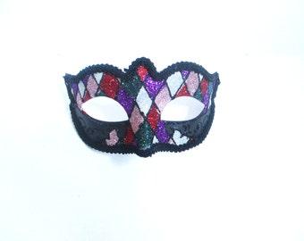 Diamond Masquarde Venetian Mask