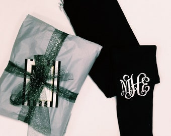 SALE - Monogrammed Leggings