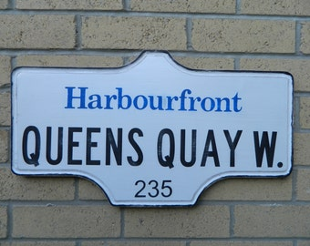 Toronto Street Sign - Harbourfront