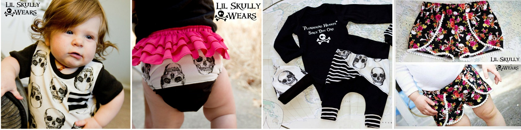 Welcome To Lil Skully Wears Skull Pirates And Par