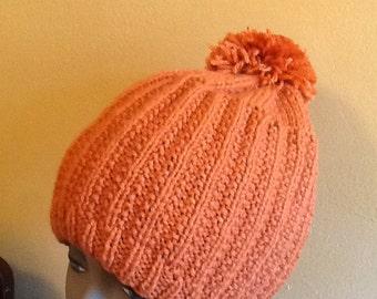 Beanie orange hat