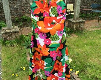 Amazing vintage flower dress