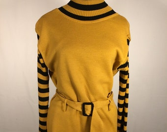 Vintage 1960s Belted Sweater