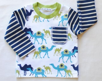 Organic Cotton Baby Boy Shirt,Long Sleeve Shirt,Toddler Shirt