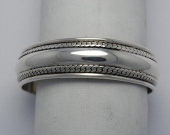 Cuff bracelet sterling silver