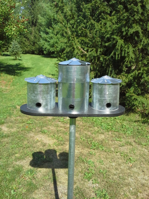 Bird Feeder Metal Bird Feeder Grain Bin Bird Feeder Farm