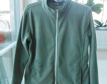 Color mud fleece jacket size 44