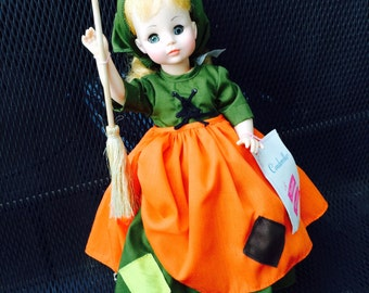 Madame Alexander Doll, Vintage 1965 Poor Cinderella Fairytale Doll