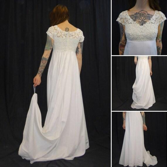 Vintage Wedding Dresses Boston: Vintage 1960's Teeny Wedding Dress Made By Priscilla Of
