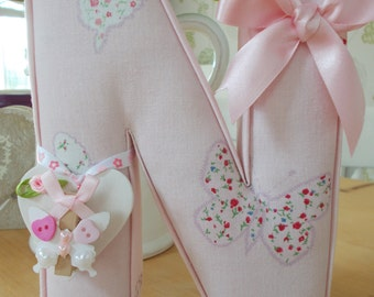 BEAUTIFUL FABRIC LETTER