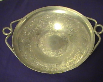 Vintage Aluminum Serving Bowl From the 1940's- Now Priced At Six Dollars!