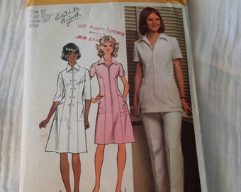 Simplicity Pattern Size 10 Professional Uniform