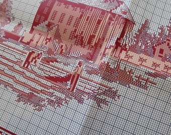 Sajou Museum & Heritage Toile du Jouy Manufacture Embroidery Chart- The Bleaching