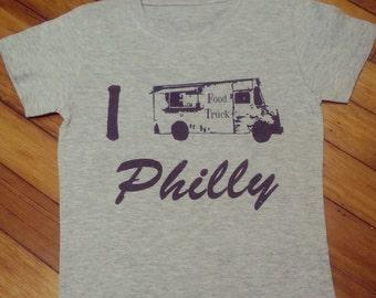 Philadelphia Food Trucks T Shirt or Onesie