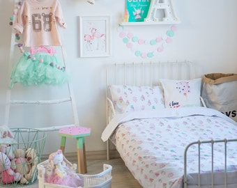 Ice Cream Bedding - Children Bedding Set Toddler Bedding Set Nursery Bedding