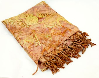 Golden Batik Sarong