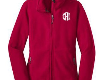 Sigma Alpha Iota Monogram Fleece Jacket