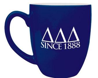 Delta Delta Delta Bistro Mug