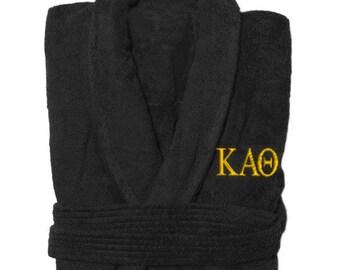 Kappa Alpha Theta Letter Bathrobe