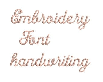 Machine Embroidery Font Designs - Font Letters, Numbers, Symbols Font Alphabet - 0.75, 1 , 1.5 , 2 & 2.5  inch Sizes