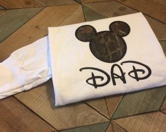 Sample Sale Item-Realtree Camo Mickey Inspired-Long Sleeve T-Shirt