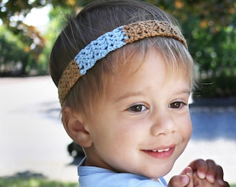 SKINNY ELASTIC HEADBAND - Adjustable Headbands And Hair Accessories, Flexible To Adjust The Baby Boy Glitter Crown Headband Shape And Size. Safety Notice Never leave your Baby/ Child unattended with headbands due to potential risk of strangulation or choking.