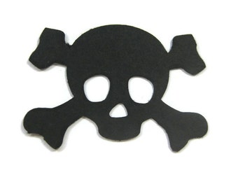 Skull Cut Outs Set of 25