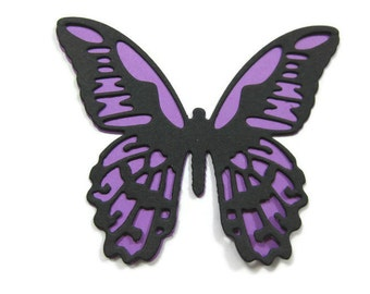 Layered Butterfly Die Cut Set of 15