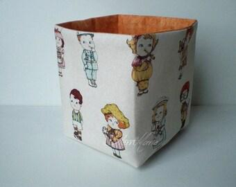 "Punnets ""paper doll"" orange"