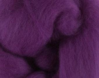 Superfine Merino Wool Roving, Color Theatre