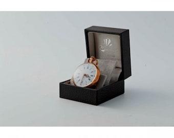 Antique Pocket/pendant Mineralife rose gold watch