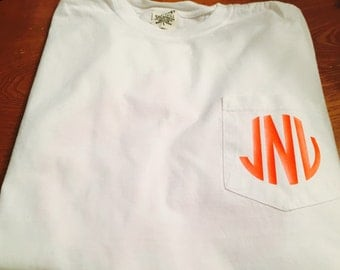 Add Name/initials to shirt