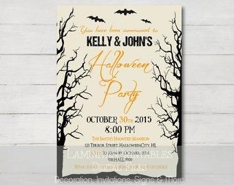 Halloween invitation, Halloween invites, Halloween party, adult halloween invitation, Halloween invitation printable, costume party invites