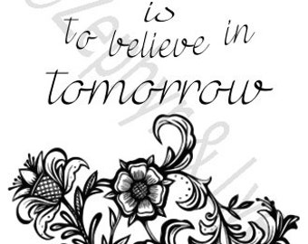 Items Similar To To Plant A Garden Is To Believe In Tomorrow Pallet Sign On Etsy
