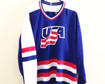 Team USA CCM Hockey Jersey