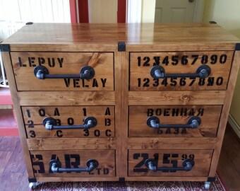 Large 6-drawer Dresser
