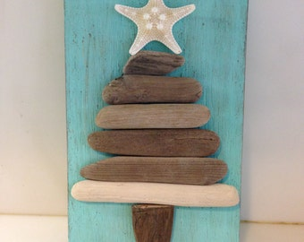 Driftwood Art, Driftwood Christmas Tree, Coastal Christmas Decor, Driftwood Decor, Coastal Decor