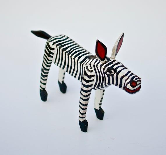 Little zebra home decor wood decor antler decor zebra for Zebra home decor