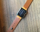 Apple Watch Band-Harvest Tan Horween™ Chromexcel™ Leather