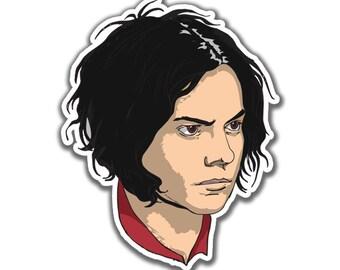 Jack White Sticker