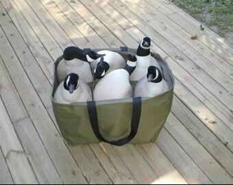 6 Pocket Full Body Goose Custom Decoy Bag NEW