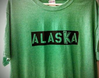 Unique Alaska t-shirt sized L
