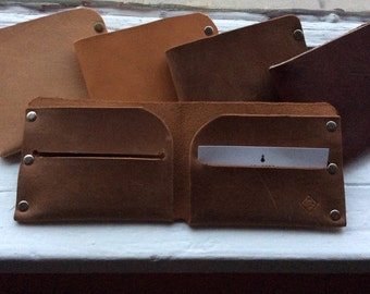 Wallet Bifold Leather