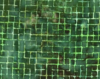 Artisan Batik - BOXED IN ab-14925-7 green